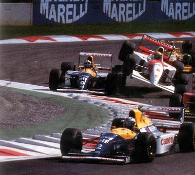 GP da Itália de Formula 1, Monza, em  1993 - speednthrash.blogspot.com